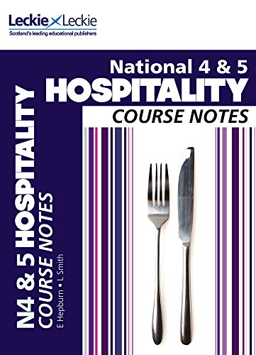 9780007504817: Course Notes - National 4/5 Hospitality Course Notes