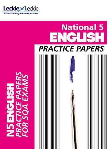 9780007504879: National 5 English Practice Papers for SQA Exams