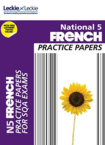 9780007504886: Practice Papers for SQA Exams - National 5 French Practice Papers for SQA Exams