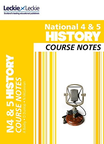 9780007504893: National 4/5 History Course Notes