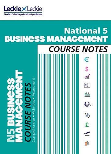 9780007504909: Course Notes - National 5 Business Management Course Notes