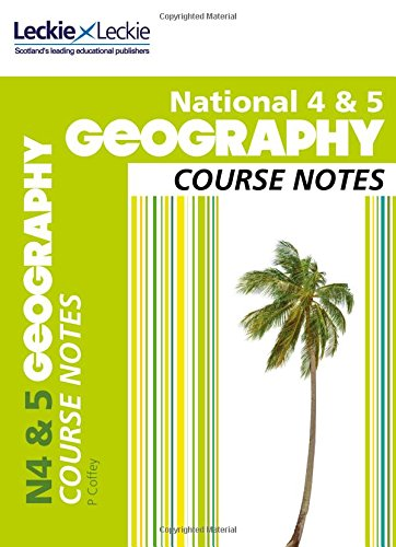 9780007504916: Course Notes - National 4/5 Geography Course Notes