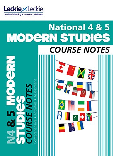 9780007504954: National 4/5 Modern Studies Course Notes (Course Notes)