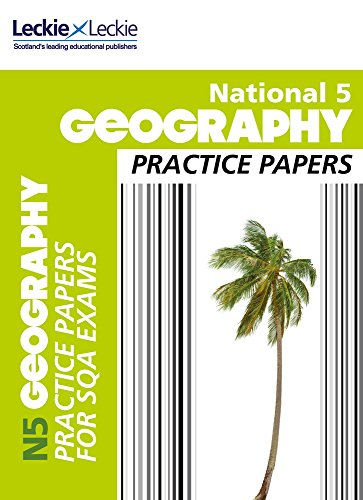 9780007504978: National 5 Geography Practice Papers for SQA Exams (Practice Papers for SQA Exams)