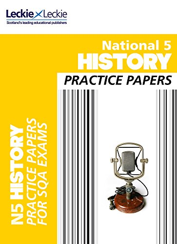9780007504985: Practice Papers for SQA Exams - National 5 History Practice Papers for SQA Exams