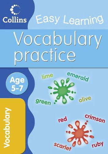 9780007505029: Vocabulary: Age 5-7 (Collins Easy Learning Age 5-7)
