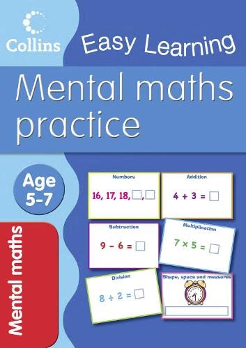 9780007505043: Mental Maths: Age 5-7 (Collins Easy Learning Age 5-7)