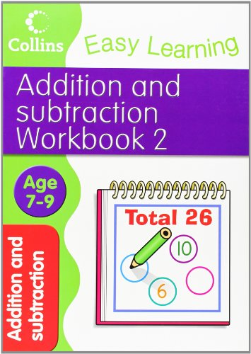 9780007505074: Addition and Subtraction Workbook 2 (Collins Easy Learning Age 7-11)