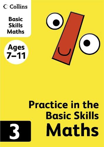 9780007505494: Maths Book 3 (Collins Practice in the Basic Skills)
