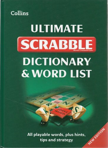 9780007505524: Collins Ultimate Scrabble Dictionary and Wordlist