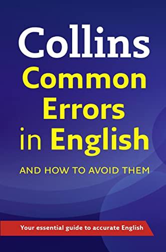 9780007506125: Collins Common Errors in English (Elt)