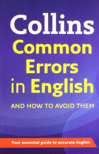9780007506132: Collins Common Errors in English in Only