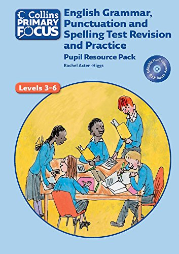 9780007506705: Collins Primary Focus - English Grammar, Punctuation and Spelling Test Revision and Practice: Pupil Resource