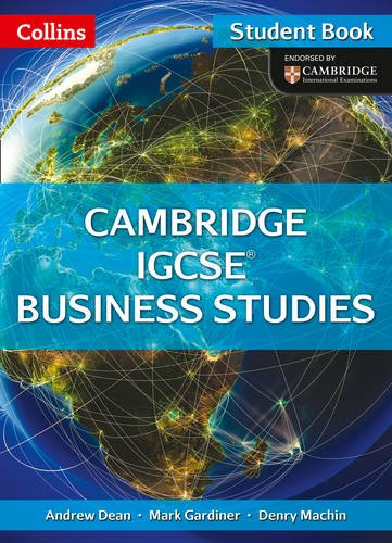 9780007507054: Collins IGCSE Business Studies - Cambridge IGCSE ® Business Studies Student Book