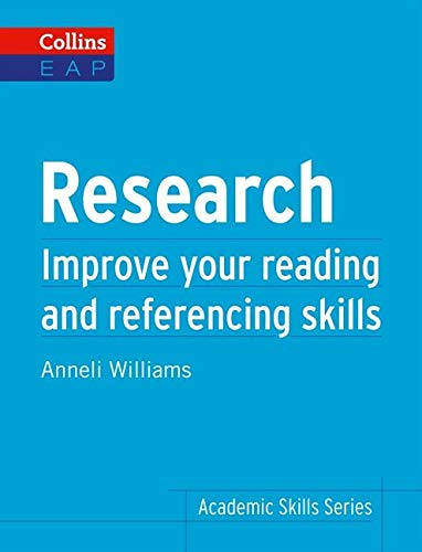 9780007507115: Research: Improve Your Reading and Referencing Skills (Collins English for Academic Purposes)