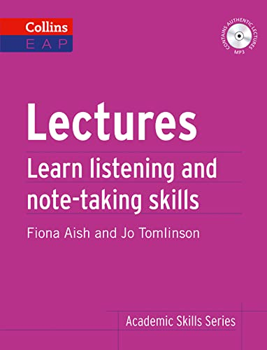 9780007507122: Lectures: Learn Academic Listening and Note-Taking Skills (Collins English for Academic Purposes)