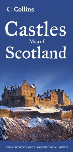 9780007508532: Collins Castles Map of Scotland (Collins Pictorial Maps)