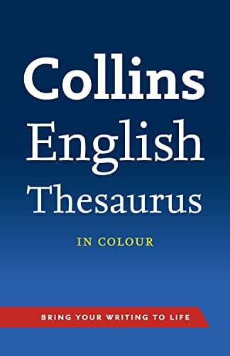9780007508600: Collins English Thesaurus