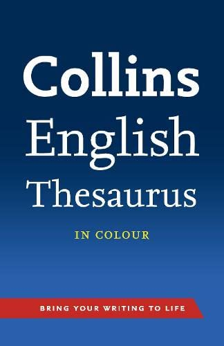 9780007508600: Collins English Thesaurus