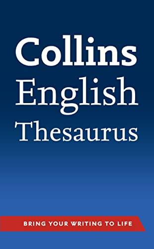 9780007508617: Collins English Thesaurus