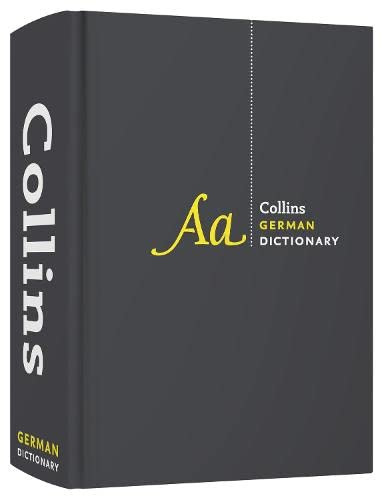9780007510832: Collins German Dictionary Complete and Unabridged Edition (Collins Complete and Unabridged)