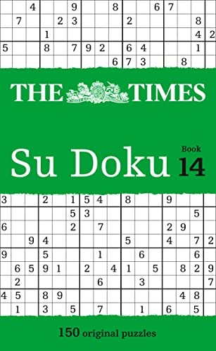 9780007511990: The Times Su Doku Book 14