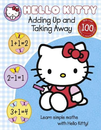 9780007512157: Learn with Hello Kitty: Adding Up and Taking Away