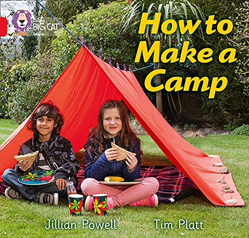 9780007512744: Collins Big Cat - How to Make a Camp: Band 2A/Red A