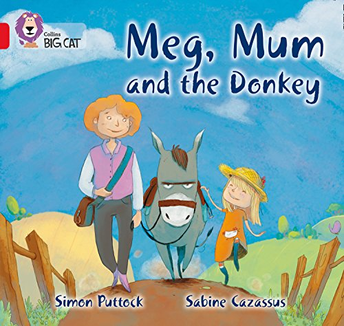9780007512768: Collins Big Cat - Meg, Mum and the Donkey: Band 02B/Red B