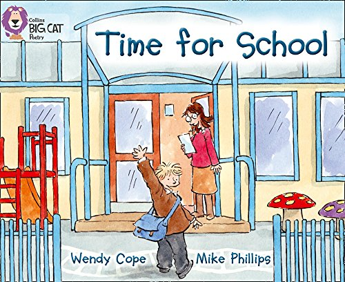 9780007512799: Collins Big Cat - Time for School: Band 03/Yellow