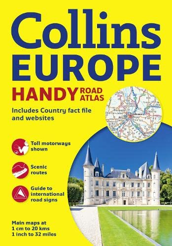 9780007513239: Handy Road Atlas of Europe (International Road Atlases)