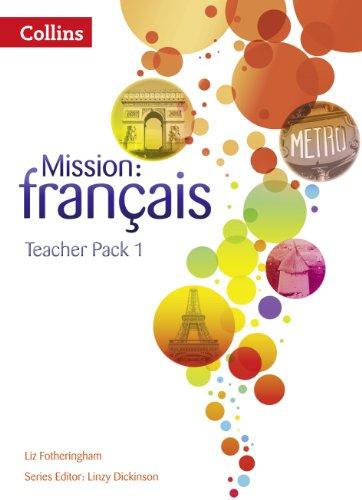 9780007513475: Mission: fran�ais - Teacher Pack 1 (Mission: Francais)