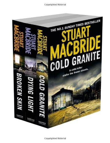 9780007513666: Stuart MacBride 3-Book Set: Cold Granite, Dying Light and Broken Skin
