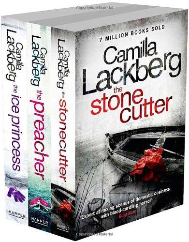 9780007513680: Camilla Lackberg 3-Book Set: The Ice Princess, The Preacher and The Stonecutter