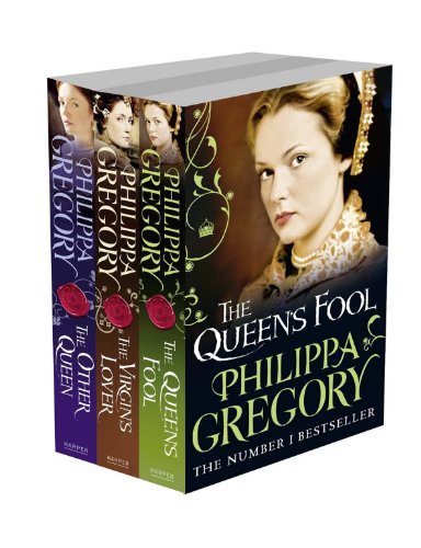 9780007513697: Philippa Gregory 3-Book Set: The Tudor Court: The Queen's Fool, The Virgin's Lover and The Other Queen