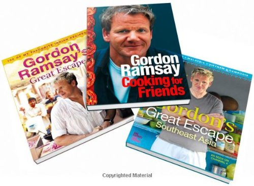 9780007513789: Gordon Ramsay 3 pack collection