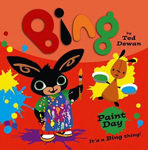 9780007515462: Bing: Paint Day