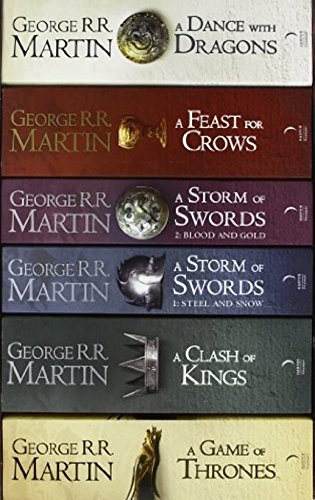 9780007515981: A Game of Thrones: The Story Continues: The complete boxset of all 6 books (A Song of Ice and Fire)