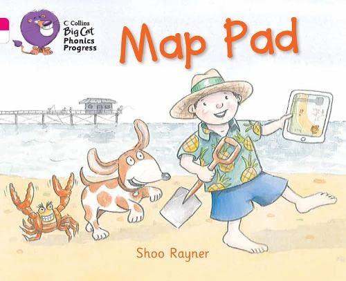 9780007516254: Map Pad (Collins Big Cat Phonics Progress)