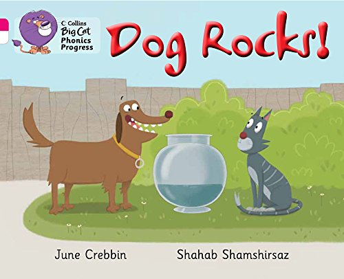 9780007516292: Dog Rocks! (Collins Big Cat Phonics Progress)