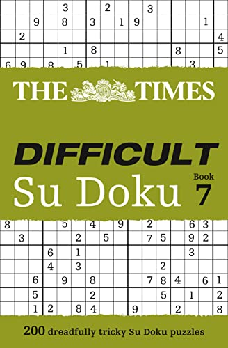 9780007516919: The Times Difficult Su Doku Book 7