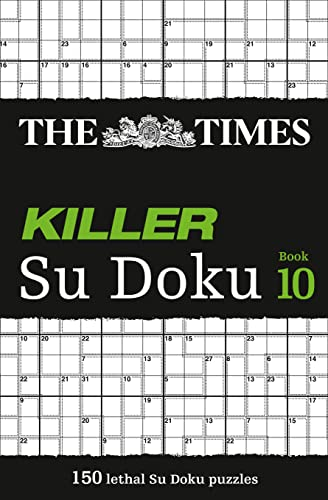 9780007516940: The Times Killer Su Doku Book 10