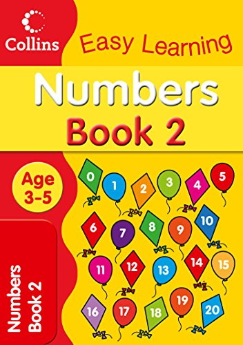 9780007517152: Numbers Age 3-5: Book 2 (Collins Easy Learning Age 3-5)
