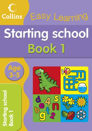 9780007517176: Starting School Age 3-5: Book 1 (Collins Easy Learning Age 3-5)