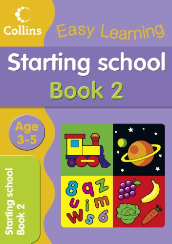 9780007517183: Starting School Age 3-5: Book 2 (Collins Easy Learning Age 3-5)
