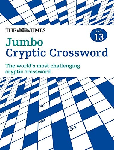 9780007517848: The Times Jumbo Cryptic Crossword Book 13