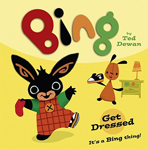 9780007518883: Bing Get Dressed Au Nz O Hb