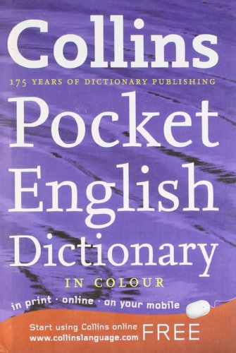 9780007518968: Collins Pocket English Dictionary