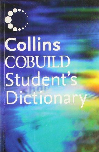 9780007518975: Student's Dictionary Plus Grammar: Plus CD-Rom (Collins Cobuild)