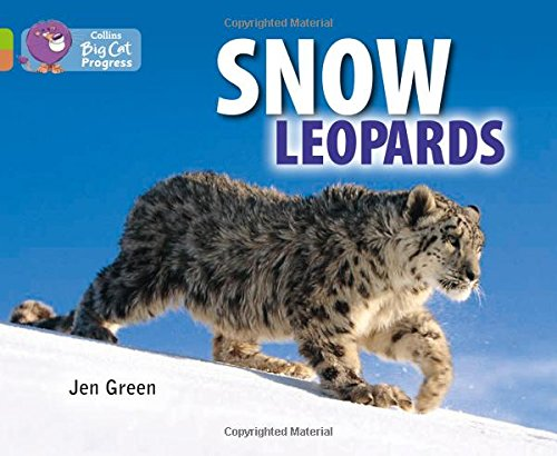 9780007519323: Collins Big Cat Progress - Snow Leopards: Band 11 Lime/Band 12 Copper